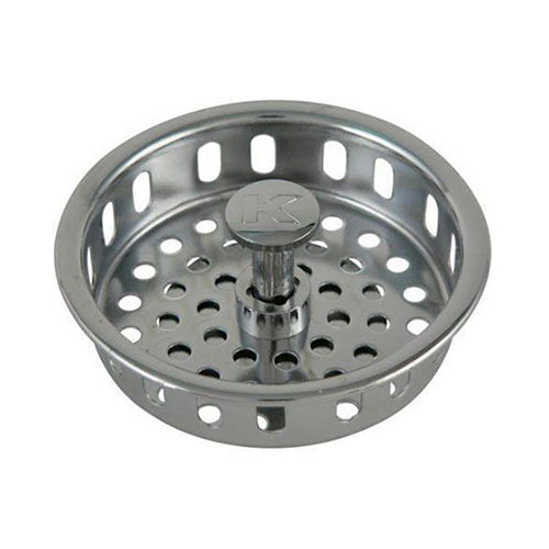 Keeney 1438 1pc Strainer Sink Basket For Use With 3 1 2 In Opening Brass Pol
