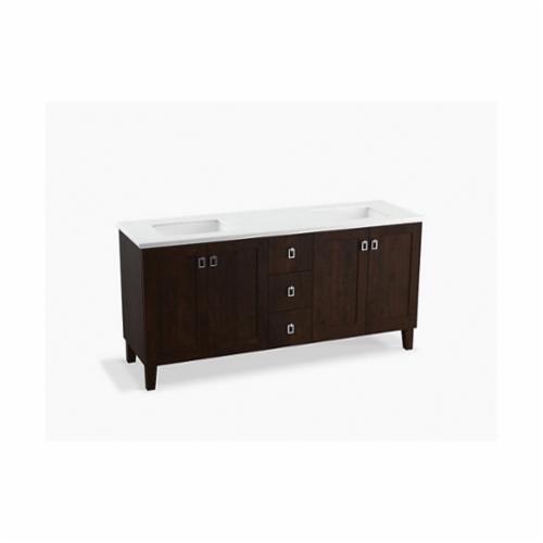 Kohler 99538 Lgsd 1wb Poplin Bathroom Vanity Cabinet With Furniture Legs And Split